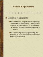 general requirements41