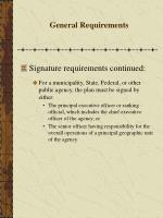 general requirements42