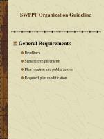 swppp organization guideline8