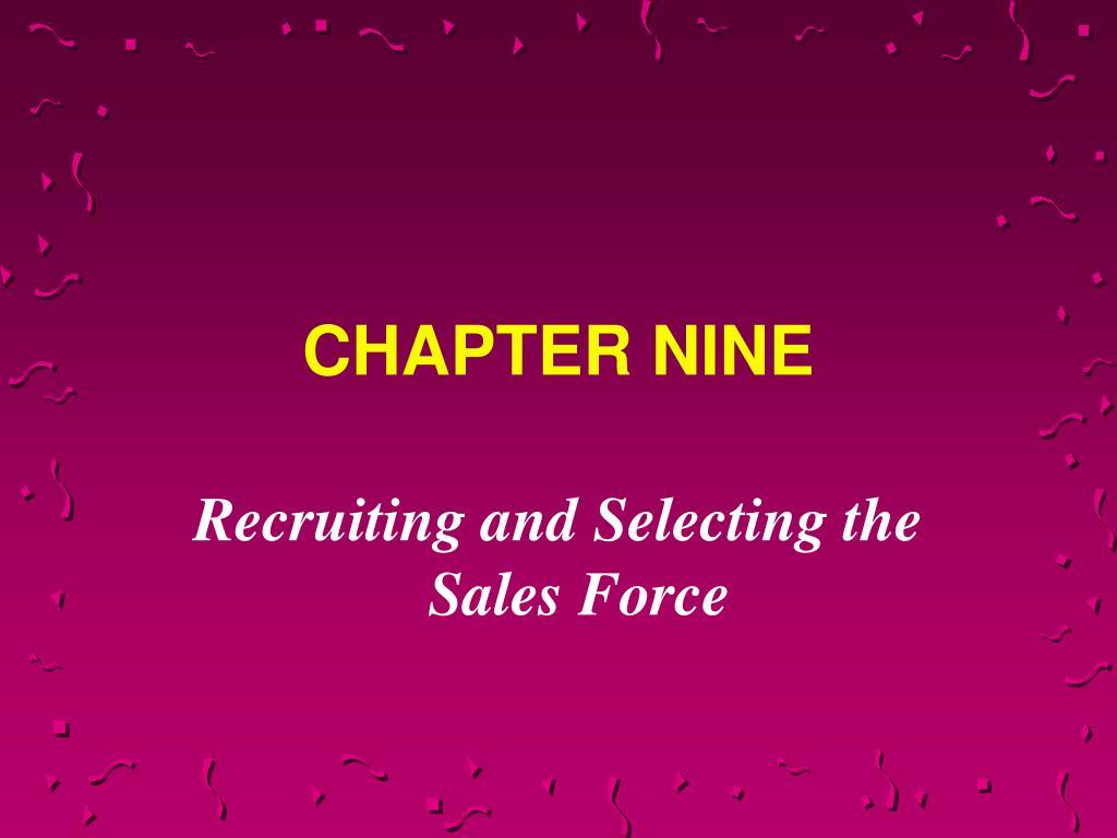 chapter nine l.