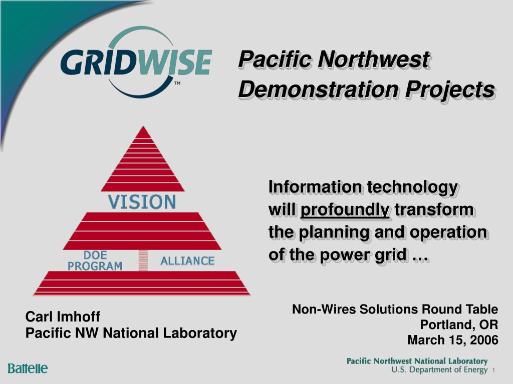 pacific northwest demonstration projects l.