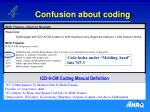 confusion about coding