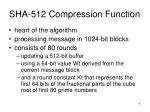 sha 512 compression function