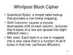 whirlpool block cipher
