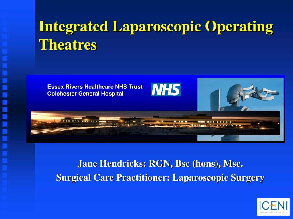 integrated laparoscopic operating theatres l.