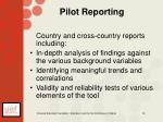 pilot reporting