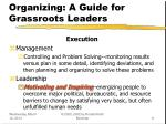 organizing a guide for grassroots leaders11