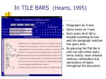 in tile bars hearts 1995