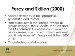 percy and skillen 2000