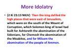 more idolatry41