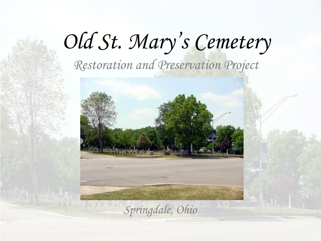 Old St. Mary's Cemetery