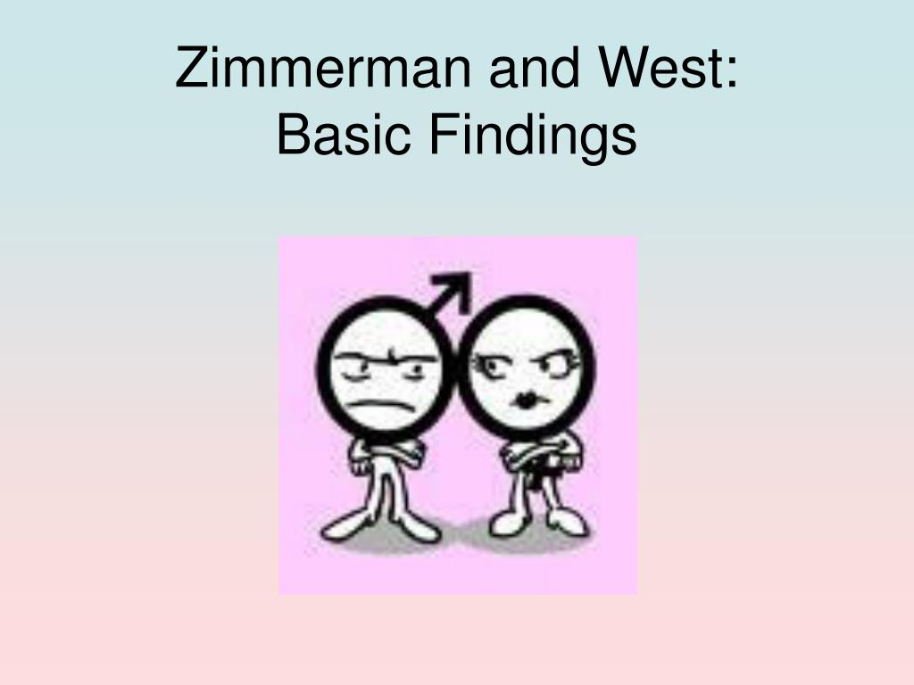 zimmerman and west basic findings l.