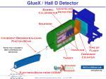 gluex hall d detector