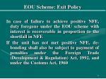 eou scheme exit policy16