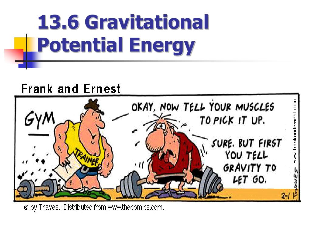 13 6 gravitational potential energy l.