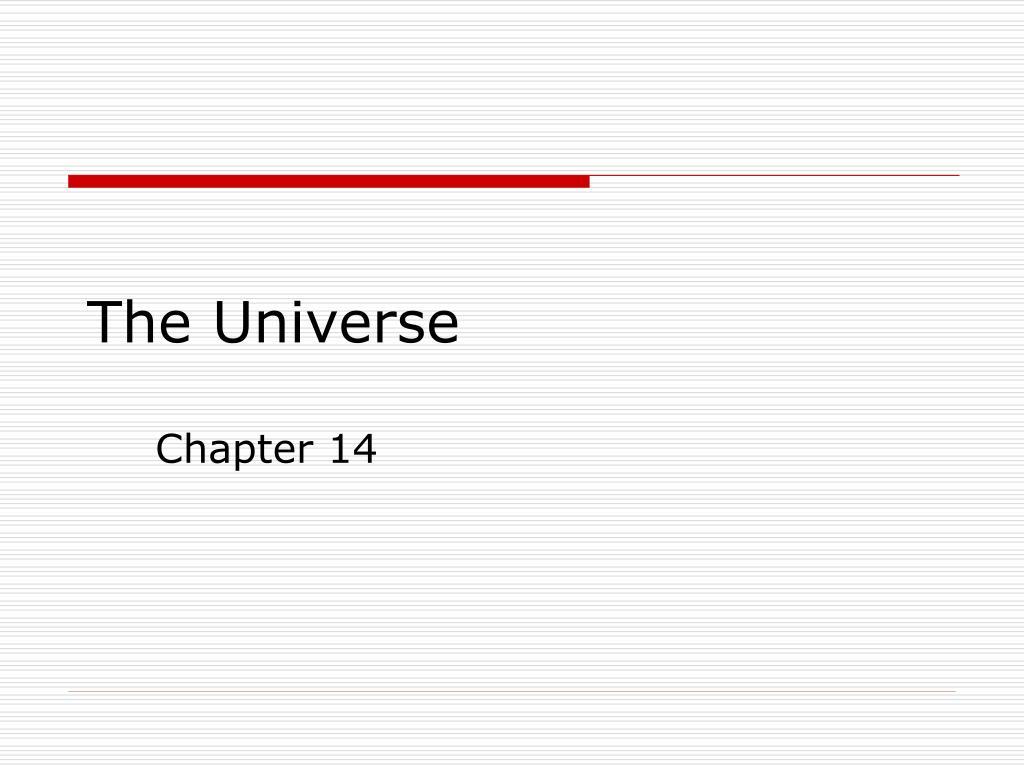 the universe l.