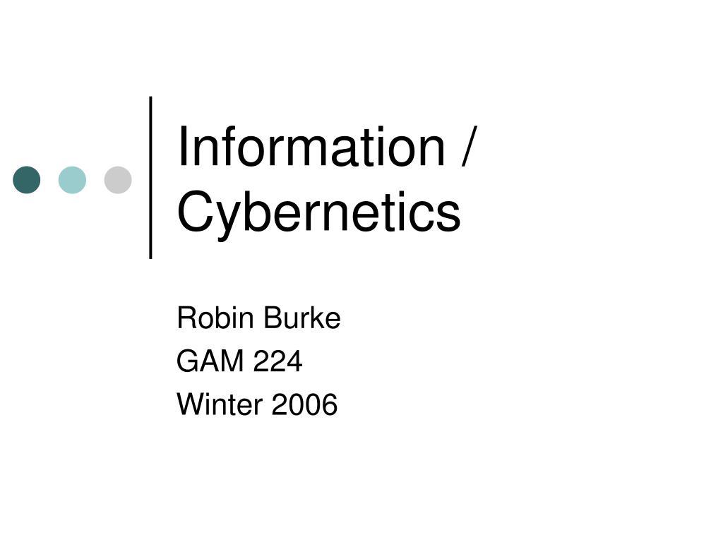 information cybernetics l.