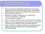 identification de concepts idc indice de raisonnement perceptif irp79