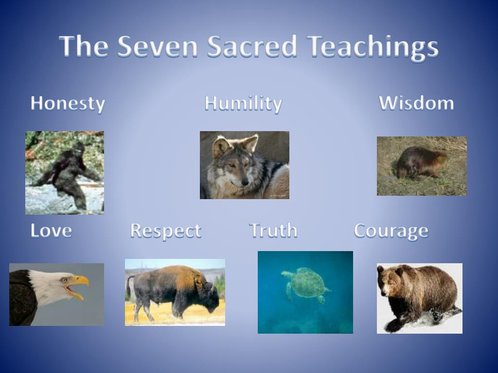 the seven sacred teachings l.