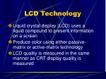 lcd technology