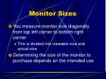 monitor sizes