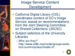 image service content development