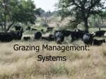 grazing management systems