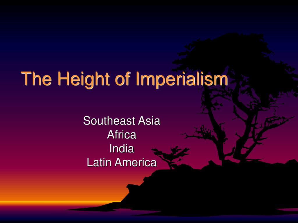 the height of imperialism l.