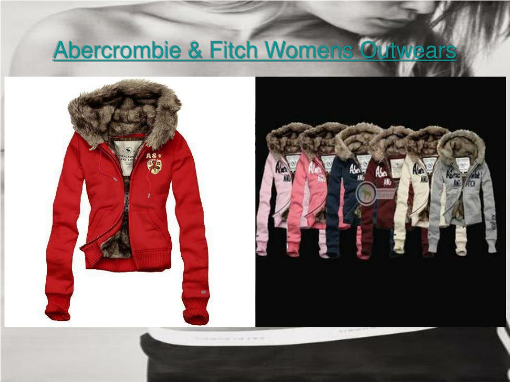 abercrombie fitch womens outwears l.