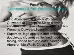 power by abercrombie fitch womens outwears