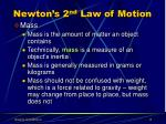newton s 2 nd law of motion8
