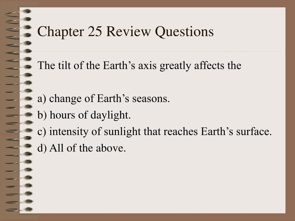chapter 25 review questions l.