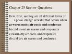 chapter 25 review questions10