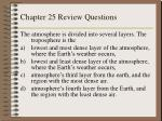 chapter 25 review questions7