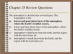 chapter 25 review questions8