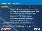 success story dell oracle
