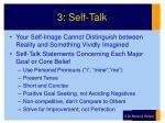 3 self talk