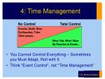 4 time management
