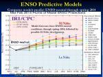 enso predictive models computer models predict enso neutral through spring 2014