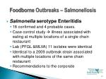 foodborne outbreaks salmonellosis15