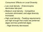 consumers effects on local diversity16