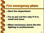 fire emergency plans22