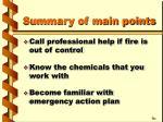 summary of main points25