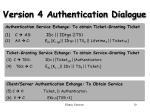version 4 authentication dialogue10