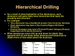 hierarchical drilling