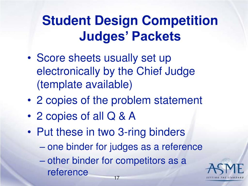 Student Design Competition