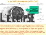 vi le second empire 1852 1870