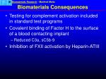 biomaterials consequences