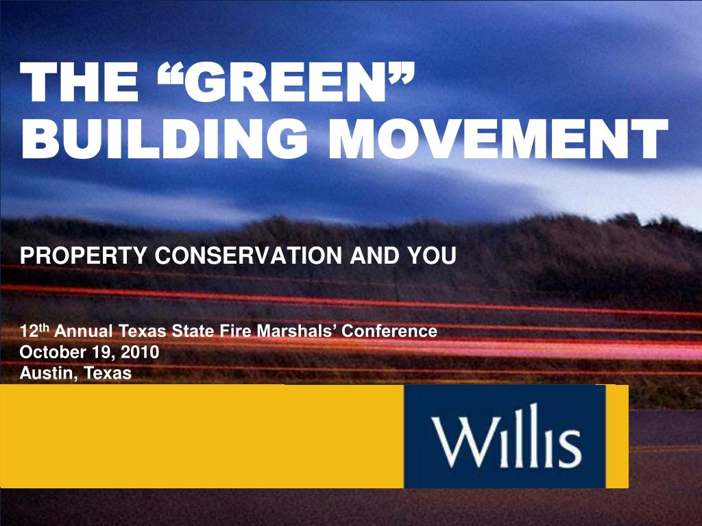 the green building movement l.