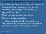 understanding information technology cont34